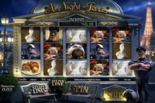 A Night In Paris Jackpot Slot game image