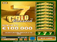 7 Gold Scratch game image