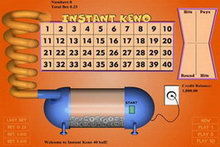 Instant Keno 40 Ball game image