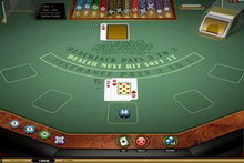 Vegas Single Deck Blackjack Gold game image