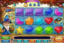 Wizard of Gems Slot game image