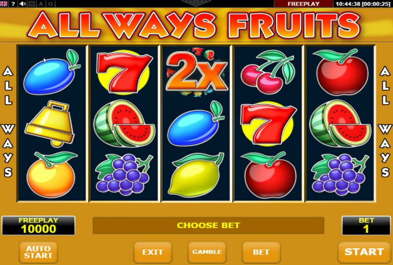 All Ways Fruits game image