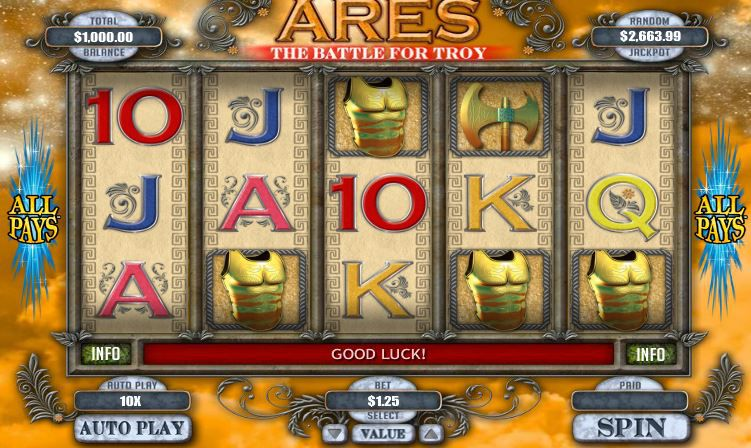 Ares game image