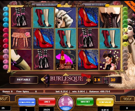 Burlesque game image