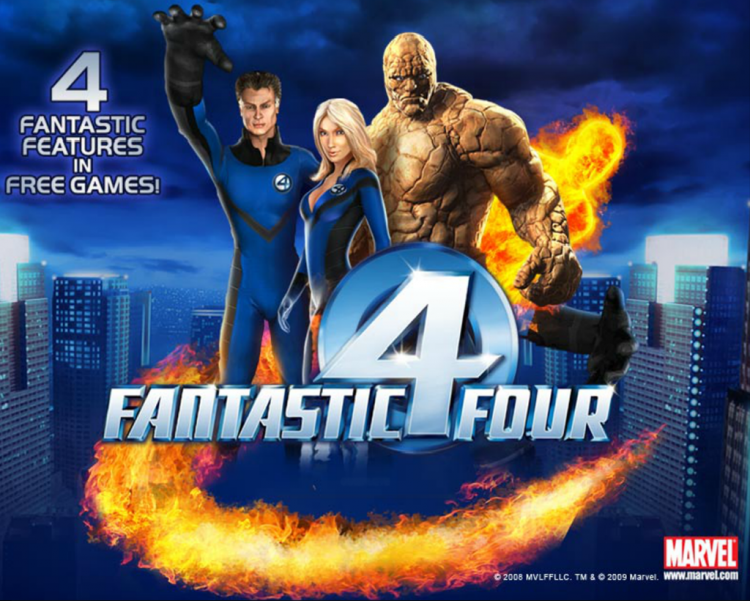 Fantastic Four Slot game image