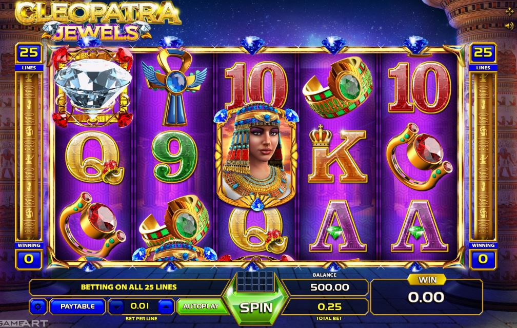 Cleopatra Jewels game image