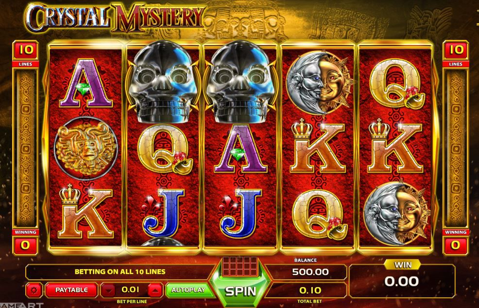 crystal slot casino