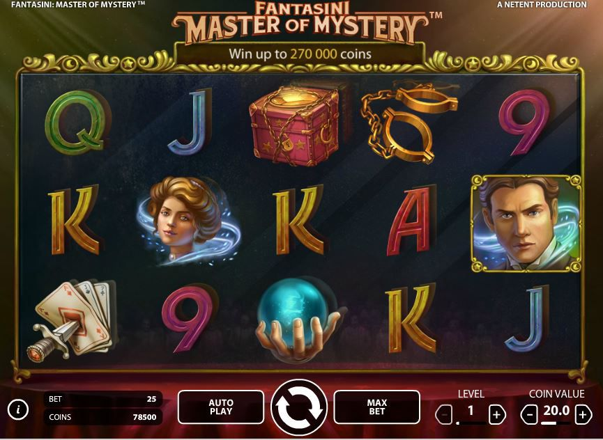 Fantasini: Master of Mystery Slot game image
